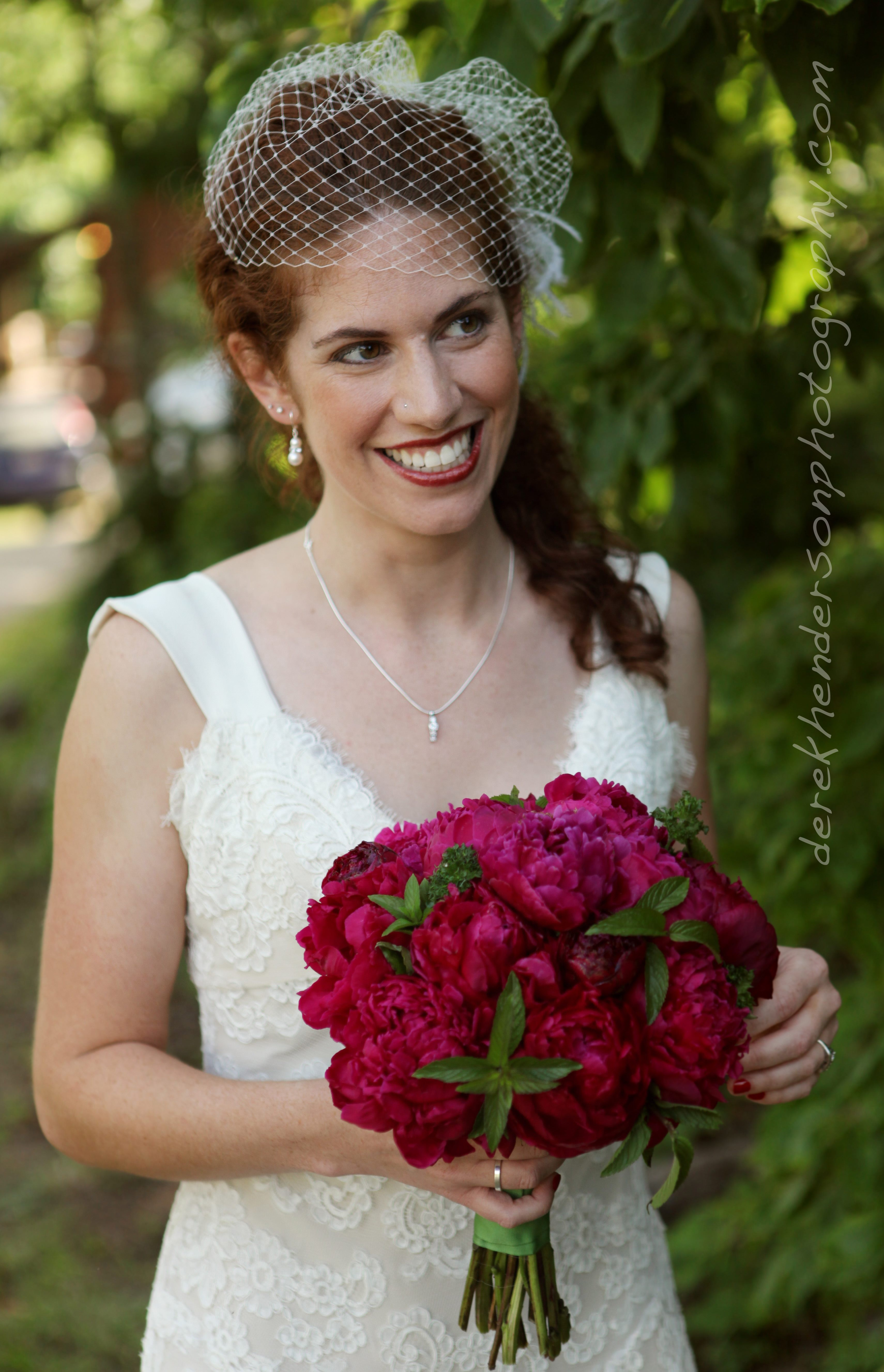 Red Wedding Peonies Brides Bouquet And Centerpieces For Loras Wedding