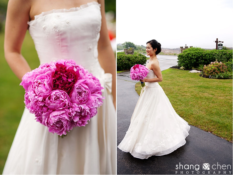 Pink Peonies Brides Wedding Bouquet